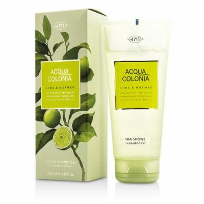 Acqua Colonia Lime & Nutmeg Aroma Shower Gel-200ml/6.8oz