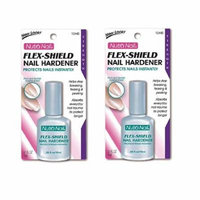 Nutra Nail Flex-Shield Nail Hardener (Pack of 2) + FREE Eyebrow Trimmer
