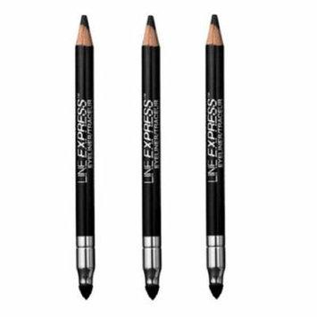Maybelline Line Express Eyeliner #902 Soft Black (Pack of 3) + FREE Eyebrow Trimmer