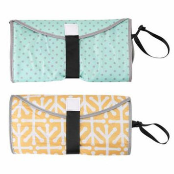 Keenso 3 in 1 Portable Baby Diaper Clutch Changing Pad Infant Toddler Foldable Mat Cover, Diaper Changing Pad, Baby Diaper Clutch
