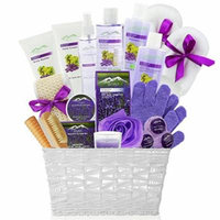 Gourmet Spa Gift Basket with Essential Oils
