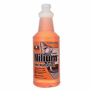 Nilodor 32 WSTM Nilium Odor Neutralizer, Tango Mango, 1 quart, 32 fl oz., 10' Height, 3.25' Width