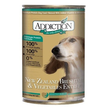 Addiction Grain Free Canned Dog Food [Brushtail & Vegetables]