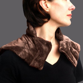 Mars Wellness Heated Microwaveable Neck and Shoulder Wrap - Herbal Hot / Cold Deep Penetrating Herbal Aromatherapy - Charcoal