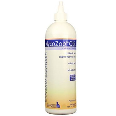 DermaZoo GlycoZoo Otic Cleanser [Options : 4 oz]
