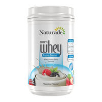 Naturade Whey Protein Booster Vanilla - 24 oz
