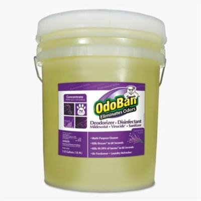 odoban rtu odor eliminator, lavender scent, 5gal pail - includes one 5-gallon pail of odor eliminator.