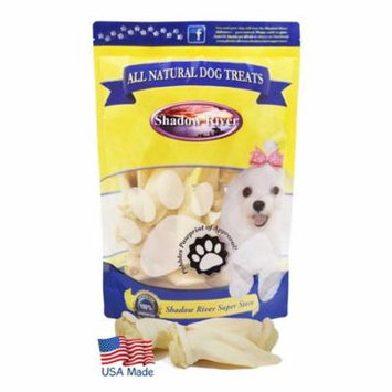 Shadow River Lamb Ear Chews For Dogs - Premium All Natural Treats - 20 Pack Petite Small Size Ears