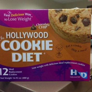 Hollywood Cookie Diet - 2 Boxes - Chocolate Chip