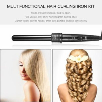 Z2813 Interchangeable 3&4 in 1 Ceramic Hair Curling Iron Set Home Hair Salon