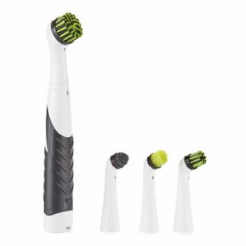 5-Piece Super Sonic Cleaning Brush Set, All-Purpose, Kitchen, Bathroom, Household, Low Force