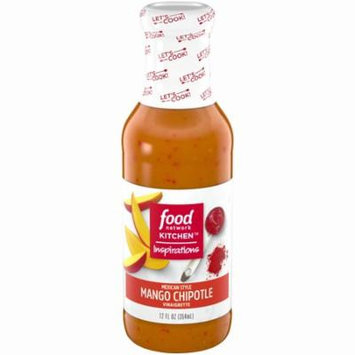 Food Network Kitchen Inspirations Mexican Style Mango Chipotle Vinaigrette Bottle, 12 oz