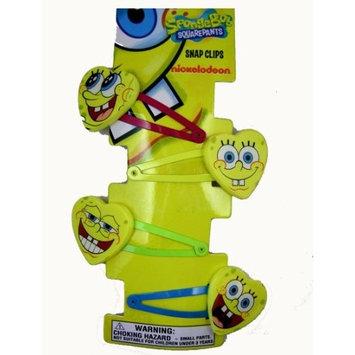 Spongebob Hair Clips - Nickelodeon Spongebob Squarepants Hair Snaps (8pcs Set)