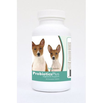 Healthy Breeds Pet Supplements 60 Basenji Probiotic and Digestive Support Chewable Tablets for Dogs