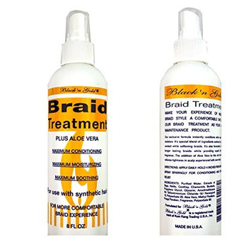 Black 'n Gold Braid Treatment Spray