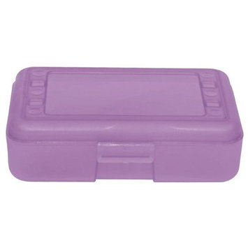 Romanoff Products, Inc. Romanoff Products ROM60226BN 8.5 x 5.5 x 2.5 in. Pencil Box Grape - 12 Each