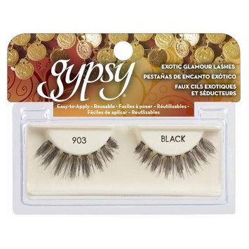 (3 Pack) GYPSY LASHES False Eyelashes - 903 Black : Beauty