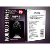Aikes Female Condoms Adult Sensitive Orgasm Latex Stimulate Condoms for Women (2)