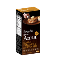 Breads From Anna Gluten Free Pancakes & Muffins Mix Maple 14 oz