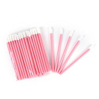 100 Pcs Disposable Lip Brushes Applicator 3.66 Inch Makeup Brush Lipstick Lip Gloss Wands Tool Set Beauty Tool Kits