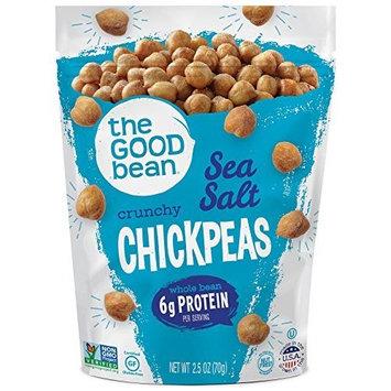 The Good Bean Chickpea Snacks, Sea Salt, 2.5 Ounce (Pack of 3)