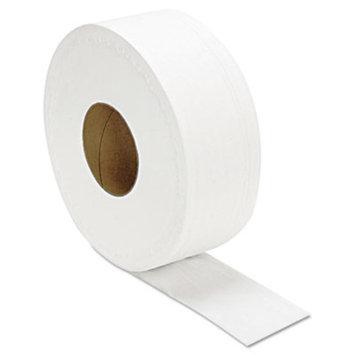 JRT Jumbo Bath Tissue, 2-Ply, 12/Carton, Sold as 1 Carton, 12 Roll per Carton