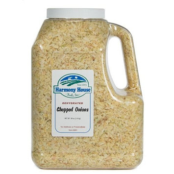 Harmony House Foods, Dehydrated Onions (58 oz, Gallon Size Jug)