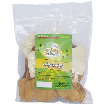 Mr Bites 8-Ounce Rawhide Chips for Dogs, Assorted Flavor