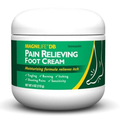 Homeopathic Pain Relief Healing Foot Cream - Soothing & Anti-Itch - 4 Oz