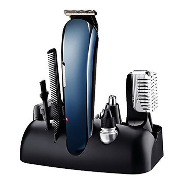 leapara Hair Trimmer Electric Shaver Razor for Men, 5-In-1 Men's Personal Groomers, Hair Clippers Nose Trimmer Beard Trimmer, Cordless Rechargeable Hair Removal Kit
