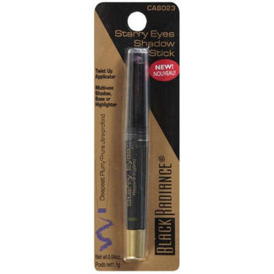 Black Radiance Starry Eyes Shadow Stick, Deepest Plum, .04 oz