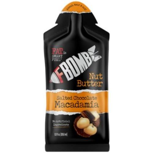 F Bomb Macadamia Nut Butter - SALTED CHOCOLATE (10 Box) by FBomb at the Vitamin Shoppe