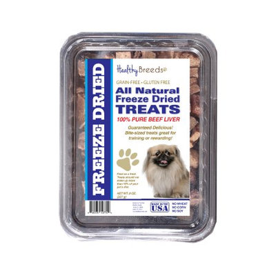 Healthy Breeds 840235147855 10 oz Pekingese All Natural Freeze Dried Treats Beef Liver
