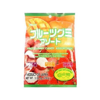 KASUGAI Fruit Gummy Candy Assortment 102g