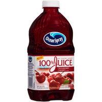 Ocean Spray 100% Juice, Cranberry Cherry, 60 Fl Oz, 1 Count [1]