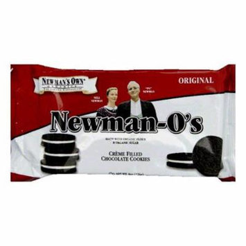 Newman's Own Organics Organic Newman-O's Vanilla Cr?ªme Cookie, 8 OZ (Pack of 6)
