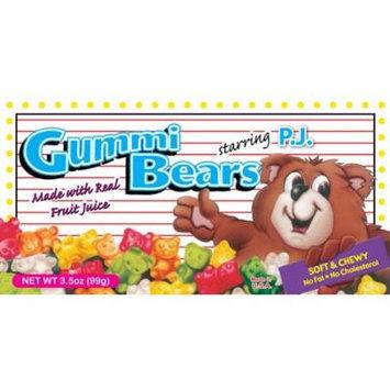Summit, P.J. Gummi Bears Fruit Juice, 48 Ct