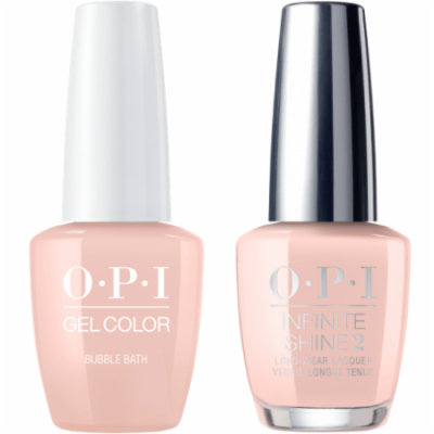 OPI GELCOLOR BUBBLE BATH #S86 + INFINITE SHINE #S86