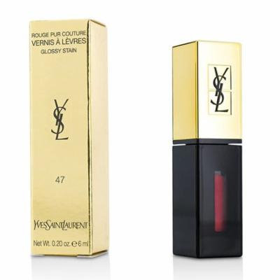 Rouge Pur Couture Vernis a Levres Glossy Stain - # 47 Carmin Tag-6ml/0.2oz