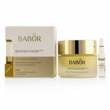 Skinovage PX Vita Balance Daily Moisturizing Cream (with Free Collagen Booster Fluid 2ml) - For Dry