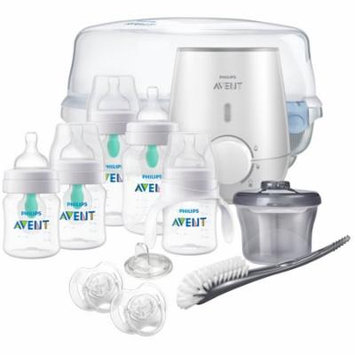 Philips Avent Anti-colic Bottle with AirFree vent Gift Set All In One, SCD397/02ST