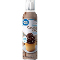 Wal-mart Stores, Inc. Great Value Decorating Cupcake Icing, Chocolate, 9.1 oz