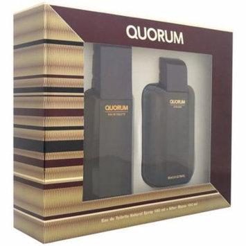 6 Pack - Antonio Puig Quorum Men's Gift Set 1 ea