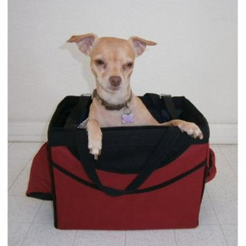 3-in-1 Small Pet Dog Puppy Bicycle Basket, Car Seat and Hand Carrier Bag