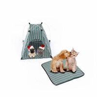 Pet Tent Portable Folding Dog Cat House Bed Tent Waterproof Indoor Outdoor Cat Tent Teepee