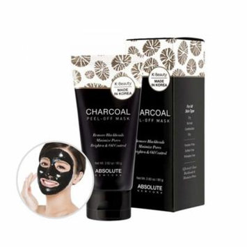 (3 Pack) ABSOLUTE Charcoal Peel-Off Mask