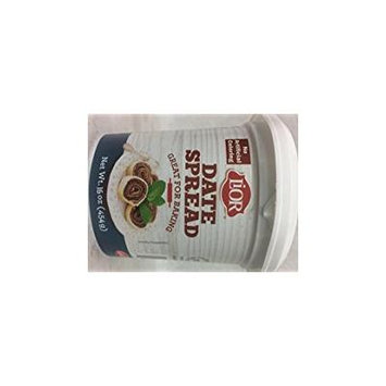 Lior Date Spread Great For Baking Kosher For Passover 16 Oz. Pack Of 3.