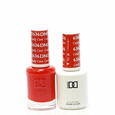 DND Nail Polish Gel & Matching Lacquer Set (636 - Candy Cane)