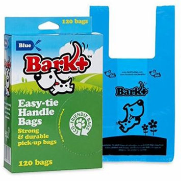 960 Count Bark+ Dog Waste Poop Bags, Unscented with Handles (Pack of 8)