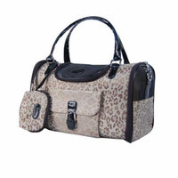 Anima Dog Carrier for Small Dogs Below 8-Pound, Medium, Gold Leopard